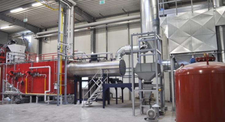 Michaelis | combined incineration plant of industrial waste and sewage sludge